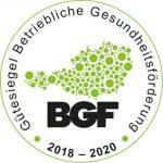 Gütesiegel Betriebliche Gesundheitsförderung 2018 - 2020 conova - Work-Life-Balance