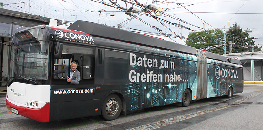 conova Obus des Monats September 2021 Progress Werbung