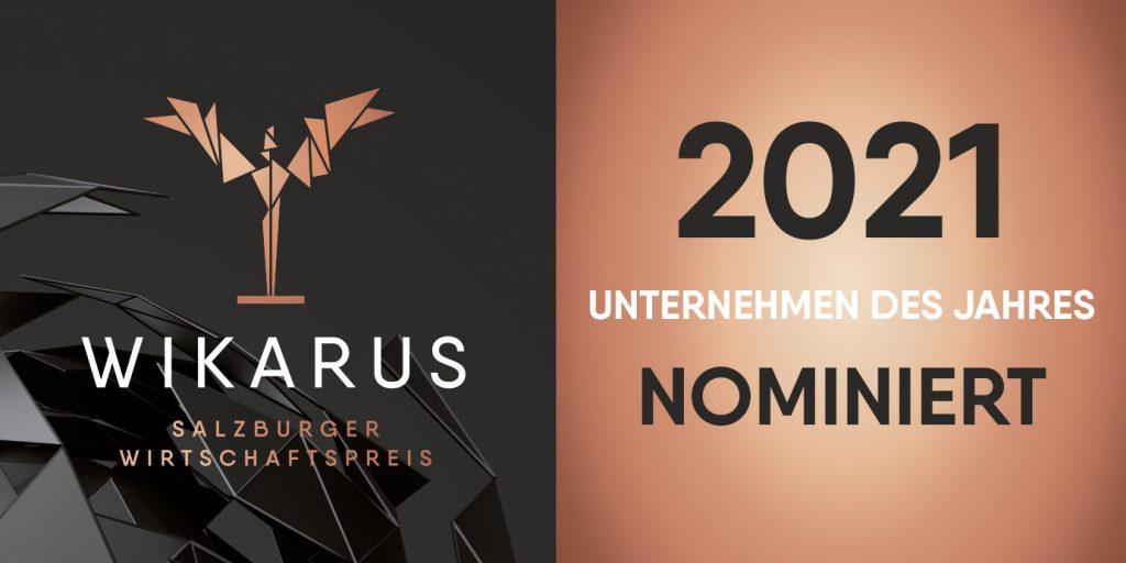 Nominierung conova für den Wikarus - Wirtschaftspreis